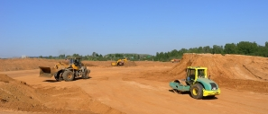 Construction of a new runway for Sheremetyevo airport