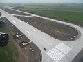 Renovation of a runway at the Krymsk military airfield